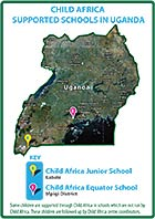 Child Africa's work location in Uganda