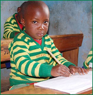 Sponsor a child through Child Africa - give education to a sponsor child